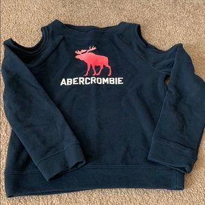Navy blue Abercrombie sweatshirt